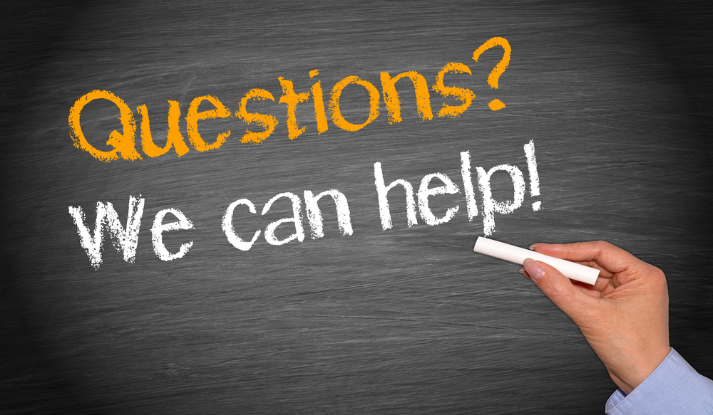 Questions We Can Help 157403105