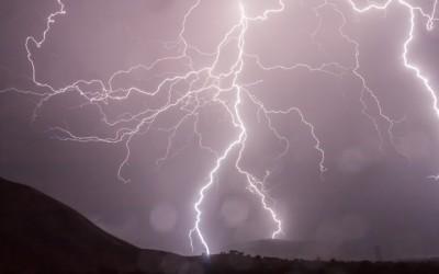 Michigan Lightning Storm