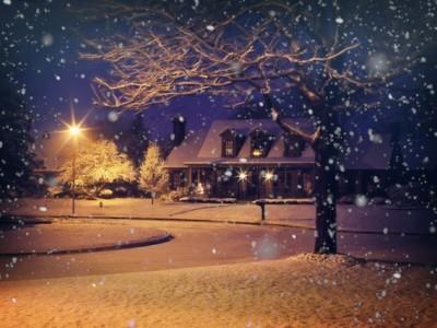 Michigan Snowy Driveway