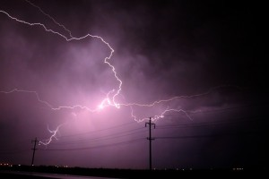 Storm that could cause power outage