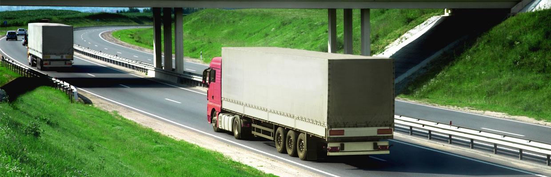 trucking insurance slider