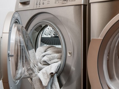 Spring cleaning with a washing machine
